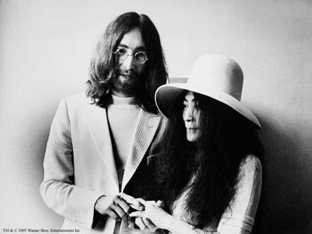 John Lennon Think Act Spread IMAGINE PEACE