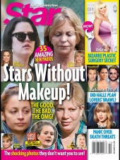 Oops! They Did It Again: Stars Without Make-Up